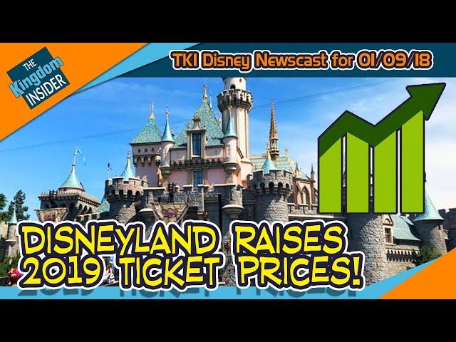 Disneyland RAISES 2019 Ticket Prices! Disney World Buys More Land!