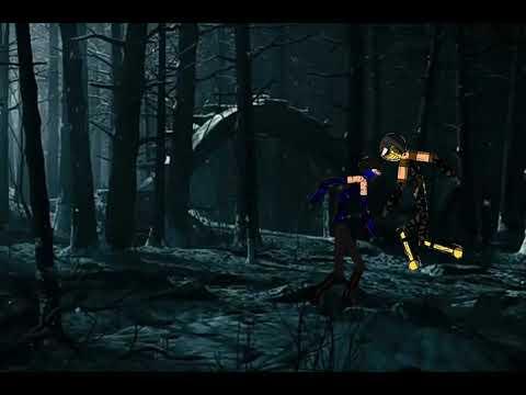 Mortal Kombat x в Рисуем мультфильмы 2