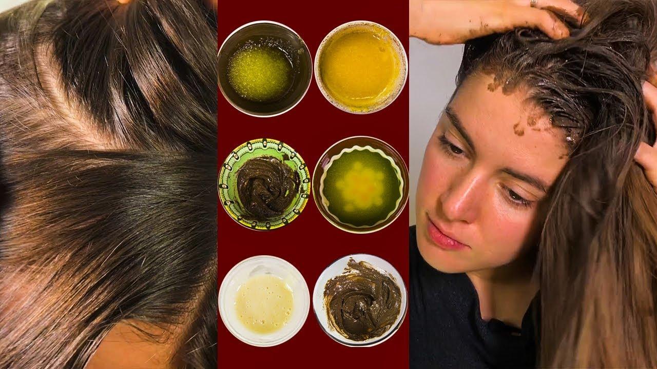 6 рецептов пилинга для кожи головы