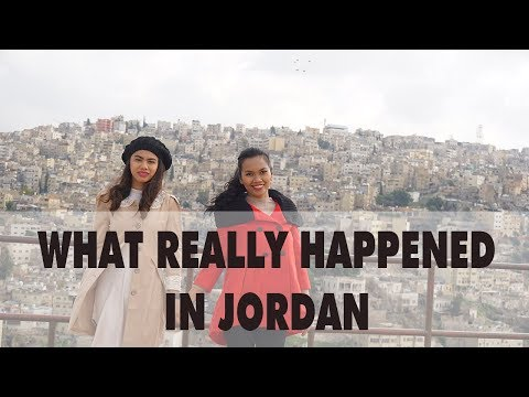 JORDAN VLOG day 1 | Amman city tour | Air Arabia Review