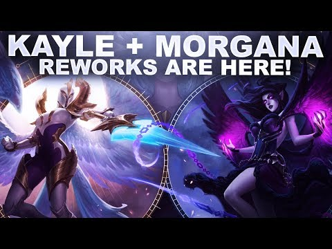 KAYLE & MORGANA REWORKS ARE HERE! | League of Legends thumbnail