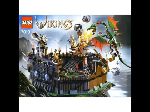 All Lego Vikings Sets 2005 2006 Youtube