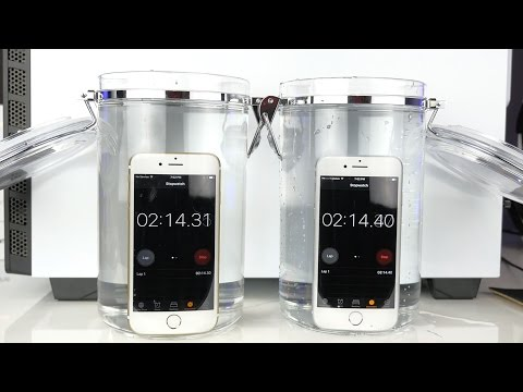 iPhone 7 vs iPhone 6s Water Test! INCREDIBLE!!