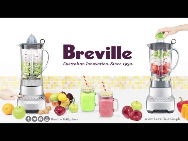 The NEW Breville Superstar blenders with Kinetix® System