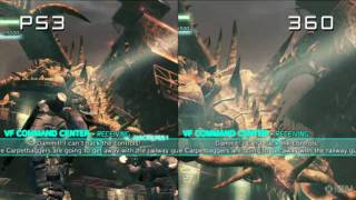 Lost Planet 2 - 360 vs. PS3 Comparison