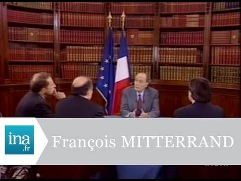 Les petites phrases de François Mitterrand - Archive vidéo INA