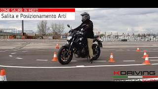 Corso di guida Moto Online | #1 Posizione di guida | Impara da zero.