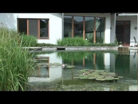 schwimmteich im reihenhausgarten - youtube, Garten ideen gestaltung