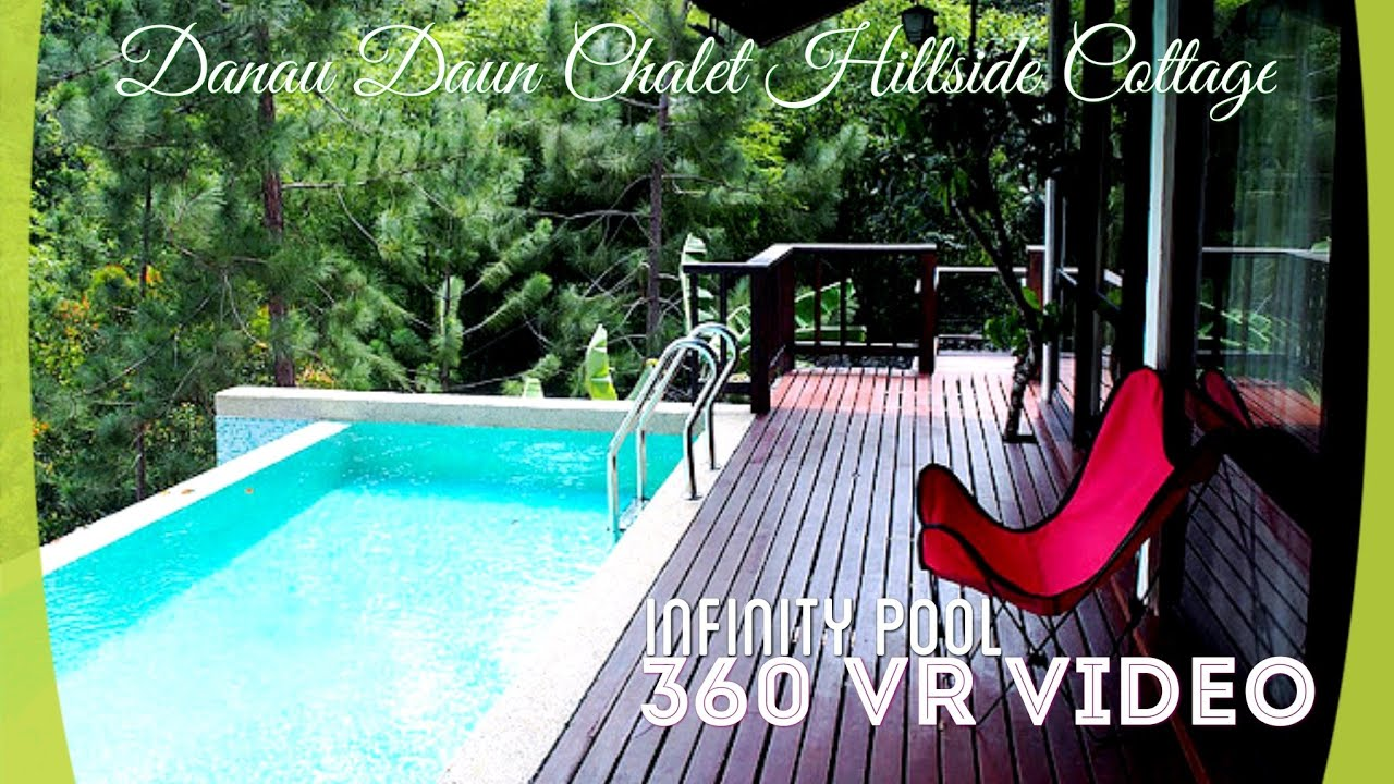 Danau Daun Chalet Hillside Cottage Infinity Pool Nature Getaway Accommodation Youtube