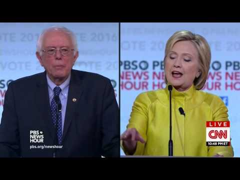 Sanders To Clinton: You're The Only One Who Has Run Against Obama