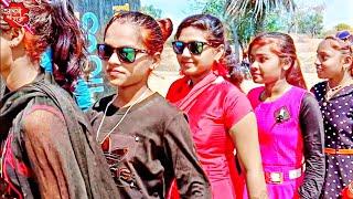 जीन्स टी शर्ट_ वाली चोरी तू लागे चे गजब मा   Beautiful Girl's Ka धमाकेदार  Adivasi Timli Dance