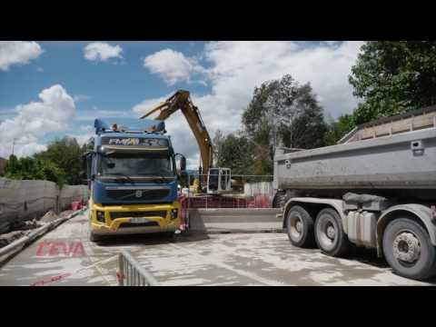 Time lapse construction du tunnel - CEVA France
