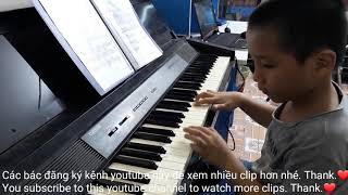 Trung tập piano❤Beethoven fur Elisa♥️funny kids songs♥️video clip cho bé♥amazing♥discovery