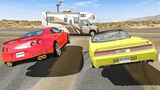Street Racing Crashes Compilation #6 - BeamNG DRIVE | SmashChan