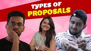 Types of proposals | Valentine's Day Special | Funcho