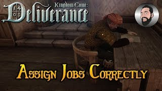 Aquarius Quest - Assign Jobs Correctly & Balif Bug tricks | Kingdom Come: Deliverance