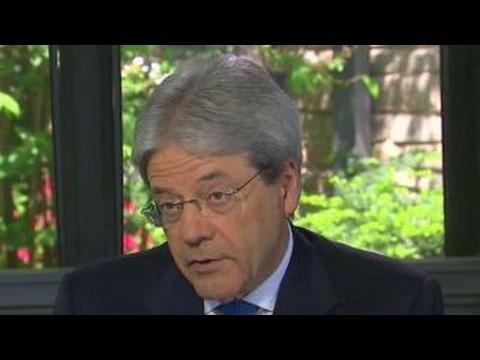 Italian Prime Minister Gentiloni on US-Italy relationship