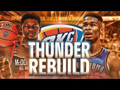 Thunder 2020 Rebuild | Thunder Land Anthony Edwards?