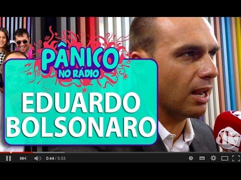 Eduardo Bolsonaro fala sobre casamento gay   Pânico