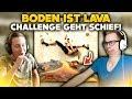 BODEN IST LAVA CHALLENGE GEHT SCHIEF! 🔥 | WTF Videos