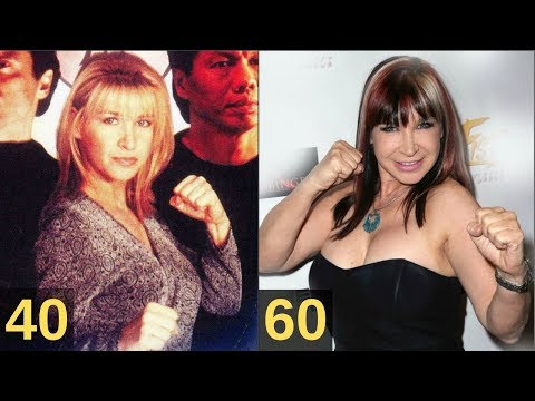 Cynthia Rothrock  From 18 to 61 Years Old