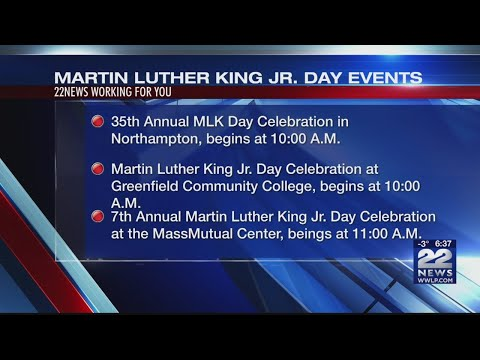 Martin Luther King Jr. Day Events in western Massachusetts