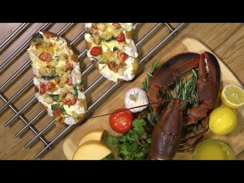 HIGH TIMES Recipes: Lobster Flat Bread