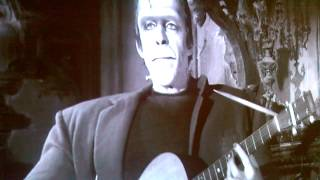 The Munsters - Herman Singing And Playing Guitar!!