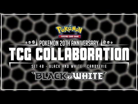 """Black & White Base Set"" - CandyEvie - (Pokemon 20th Anniversary TCG Collaboration)"
