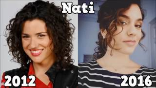 Violetta Then And Now 2016