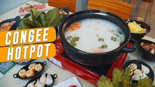 The First Congee Hotpot In Singapore: Congee Legend