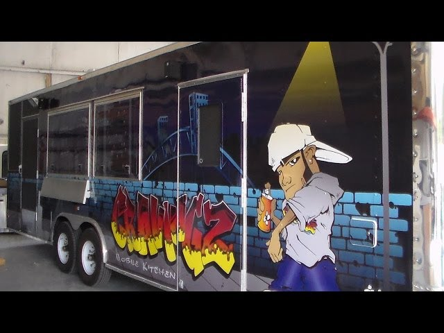 M&R Trailers - Southern Pride Smoker Concession Trailer