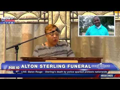 FULL SERVICE: Funeral for Alton Sterling, Killed by Police in Baton Rouge Louisiana - FNN