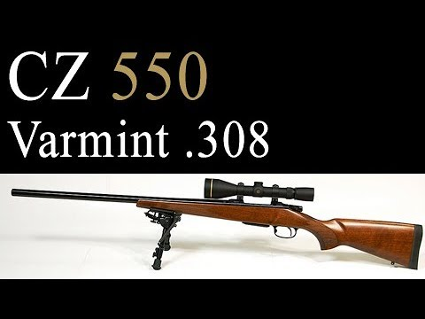 CZ 550 Varmint  308 Review, Trigger, and Accuracy