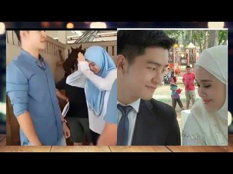 Sweet Giler Emma Maembong Pegang Pipi Alvin Chong Meminta Maaf Scene Nak Tampar Pipinya Di Set ASST!