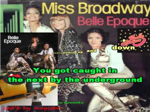 Belle Epoque   miss broadway karaoke mr.Magic mp4