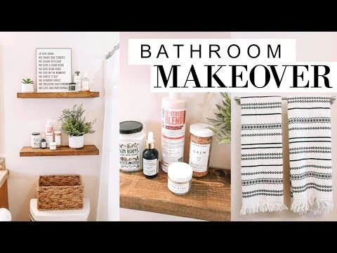DIY Bathroom Makeover!! | Blaire Wilson
