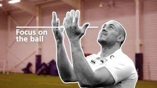 O2 Inside Line: Masterclass - catching the high ball