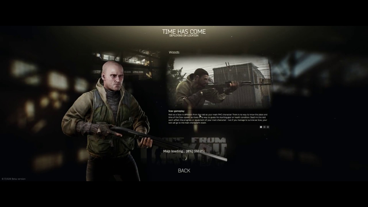 Escape from Tarkov 2018 review while playing