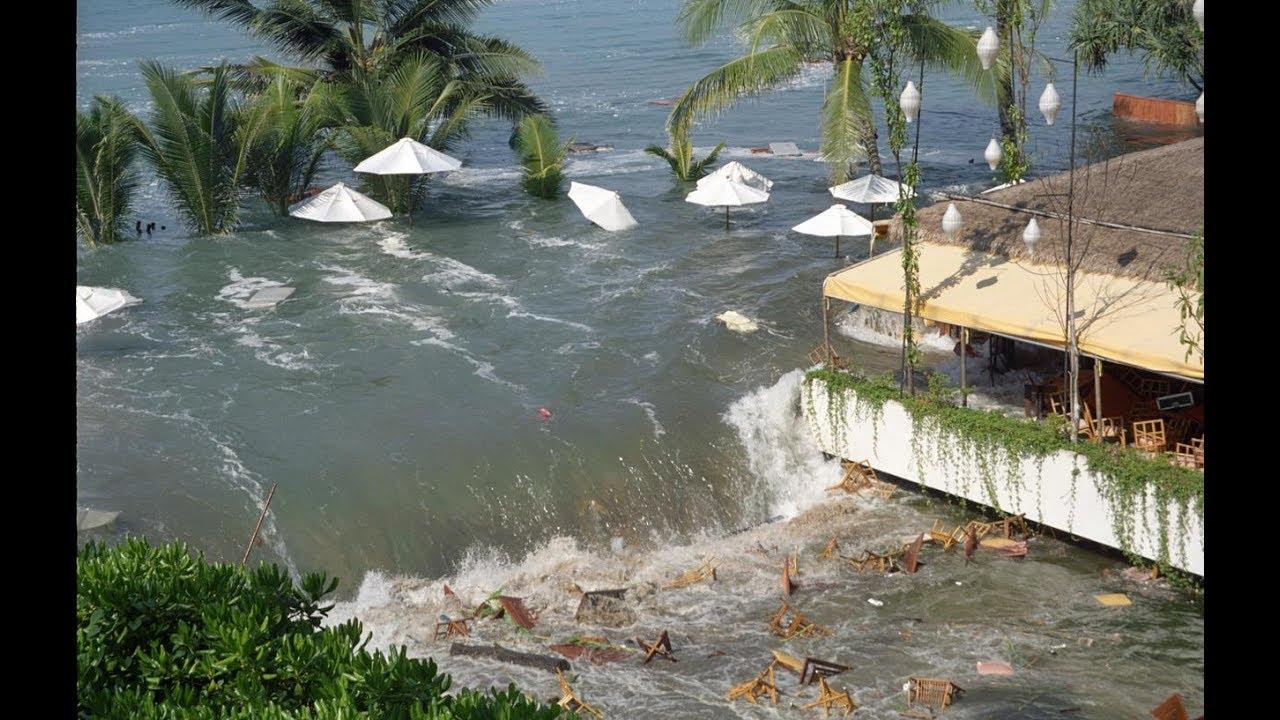 Tsunami On The Beach