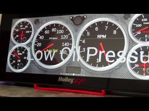 Holley EFI How To: Setting Up Warnings On Digital Dash