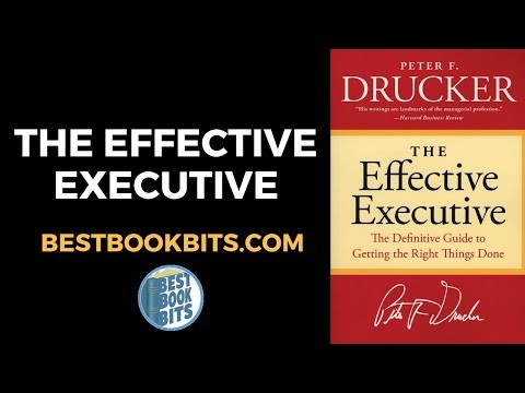 peter-drucker:-the-effective-executive-book-summary