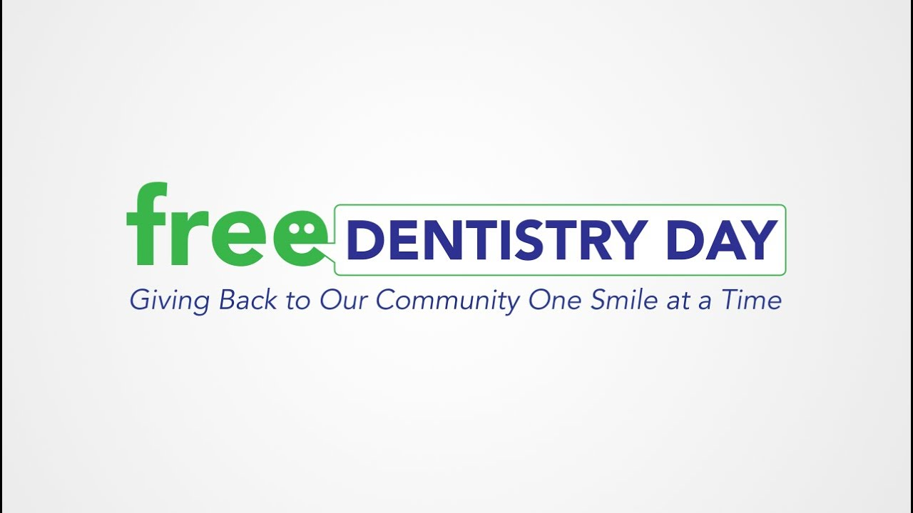 Free Dentistry Day - Giving back to communities one smile at a time