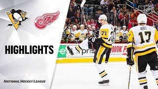 NHL Highlights | Penguins @ Red Wings 12/07/19