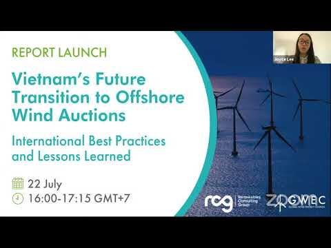 Report Launch I Vietnam's Future Transition to Offshore Wind Auctions