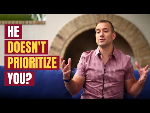 He Doesn't Prioritize You - The Only Way He'll Ever Change | Relationship Advice by Mat Boggs