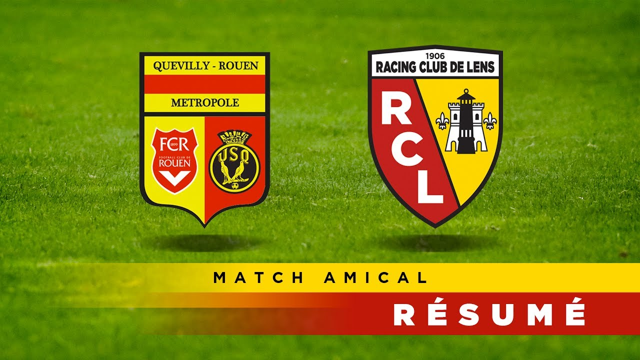 resume du match lens quevilly