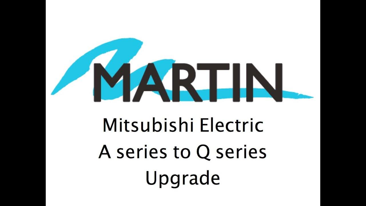 Mitsubishi Electric A series to Q series PLC Upgrade Follow