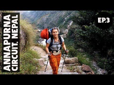 SLOW AS A SNAIL // Annapurna Circuit Trek EP3