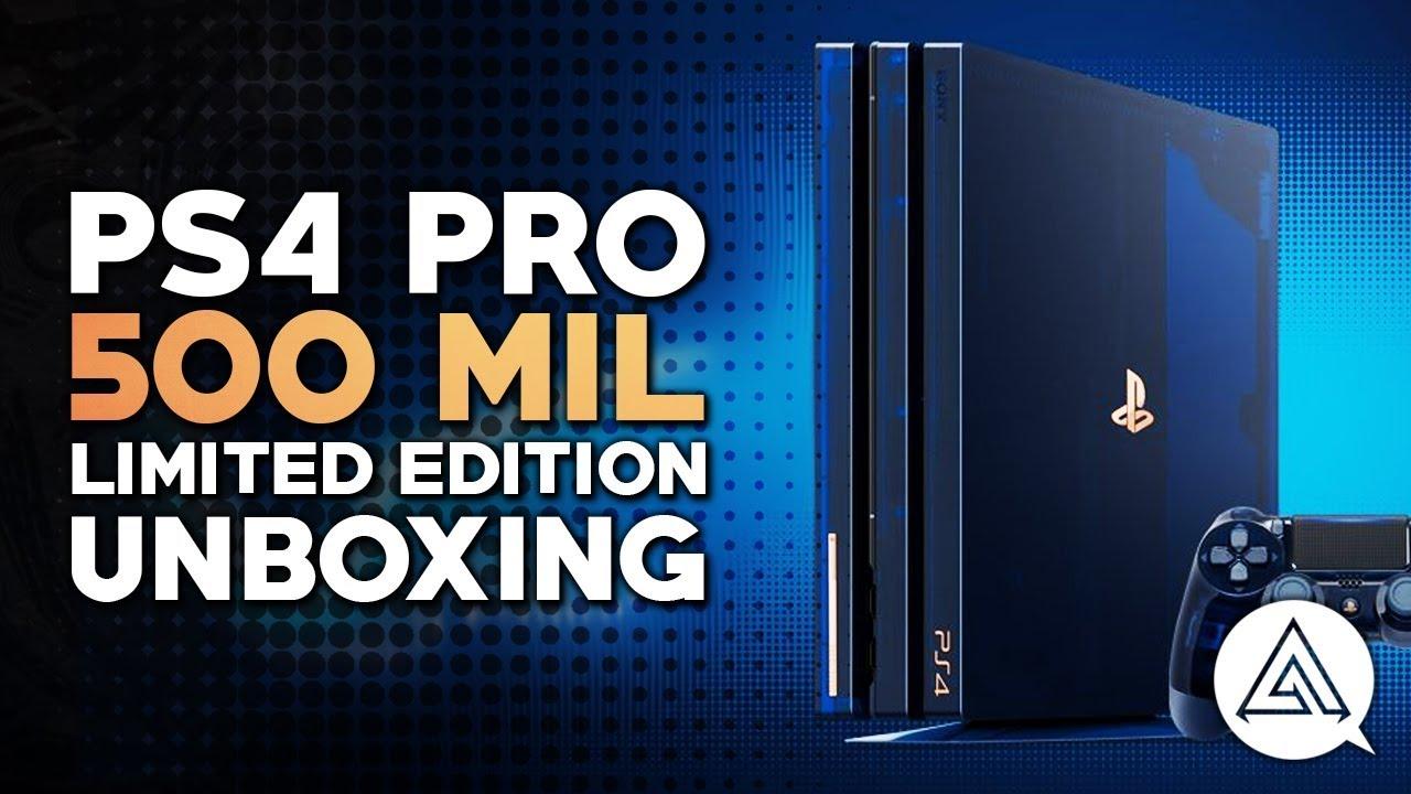 ps4 pro 2tb 500 m edición limitada